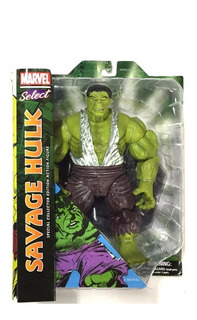 Marvel Select - Hulk Savage - Grande 26 Cm Nuevo Sellado