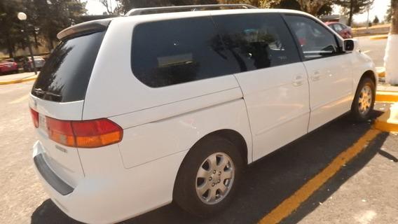 Honda Odyssey Blanca Bonita