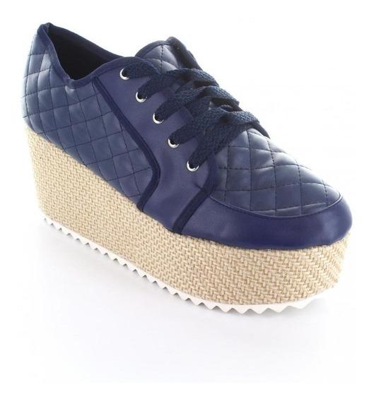 Tenis Para Mujer Muzza 015-036315 Color Azul