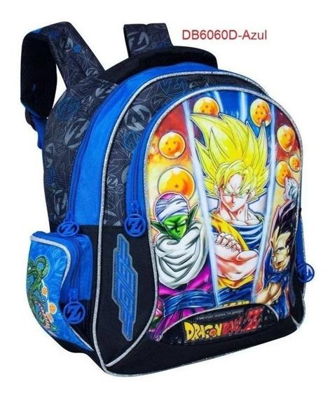 Mochila Infantil Cliostyle Kids Dragon Ball Z Imediato