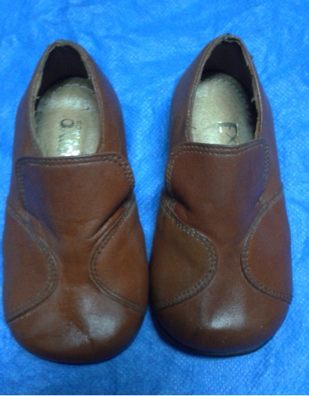 Zapato Exclusivo Para Niño Forrado N° 18