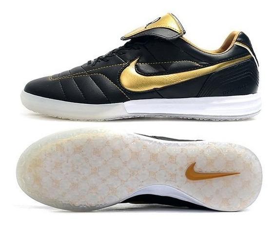 Tênis Futsal Nike Tiempo Legend 7 R10 Preto #prontaentrega