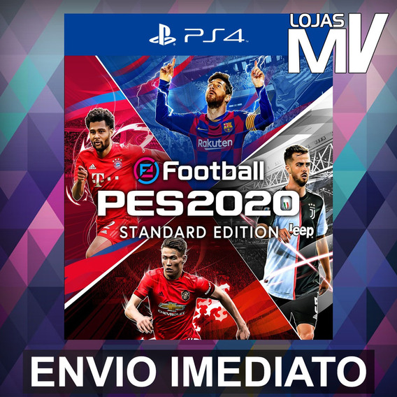 Pro Evolution Soccer 2020 Pes 2020 Ps4 Codigo De 12 Digitos
