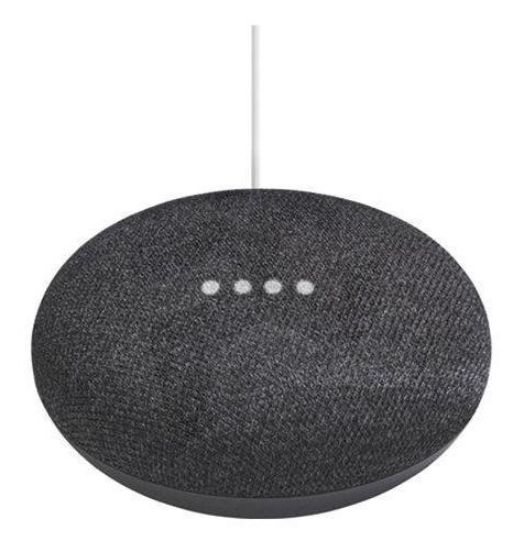 Asistente De Voz En Español Google Home Mini Charcoal