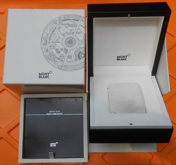 Original Estuche De Reloj Montblanc Completo Envio Gratis