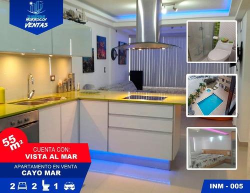 Imagen 1 de 14 de Apartamento Vacacional En Venta En Tucacas Morrocoy Inm-005