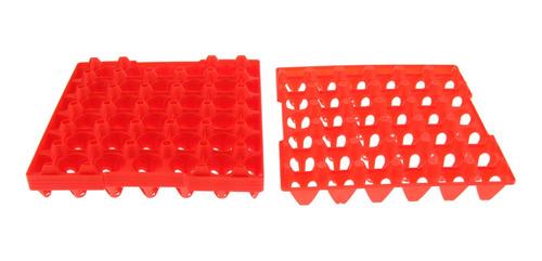 Bandeja De Ovos 5pcs Para 30 Ovos De Plástico