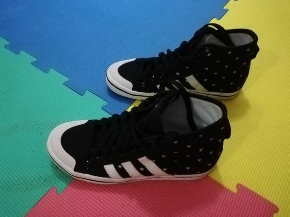 Zapatillas 3 Tiras Negras Talle 35