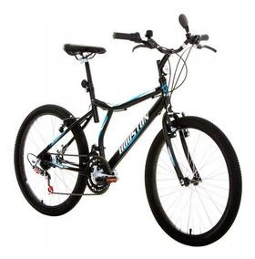 Bicicleta Atlantis Land Aro 24 21 Marchas Preto Fosco