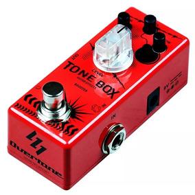 Pedal Guitarra Booster Overtone Tone Box