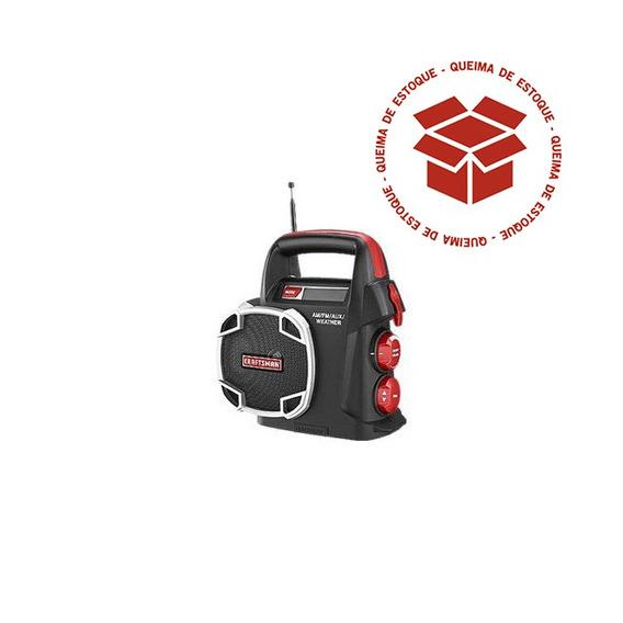 Radio Am/fm Com Entrada Auxiliar - 10126 - Craftsman
