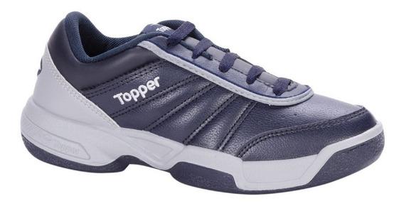 Zapatillas Topper Tenis Tie Break Marino Originales