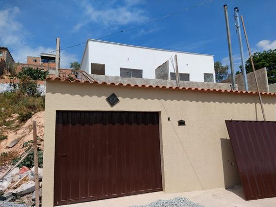 Casa Geminada Com 3 Quartos Para Comprar No Vida Nova Em Vespasiano/mg - 3062