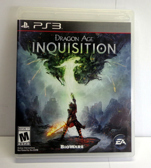 Dragon Age Inquisition Semi-novo Ps3 - Mídia Física