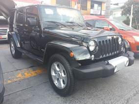 Impecable Jeep Wrangler Sahara 2015 Unico Dueño