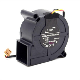 Cooler Projetor 12v Ab06012mx250300 Plug Marrom 0.18a Nfe