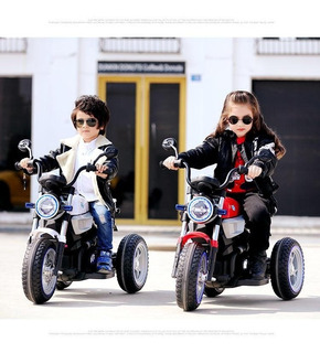 Motocicletas Para Niños Niñas A Bateria