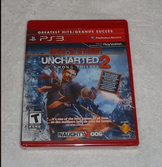 Uncharted 2 Ps3 Lacrado ** Leia