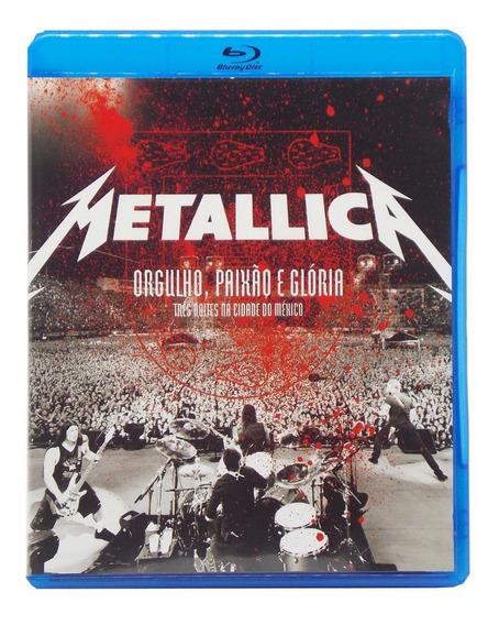 Blu-ray Metallica Orgulho, Paixão E Gloria (perfeito Estado)