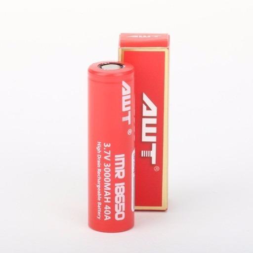 Bateria Pilas Awt 18650 Vape Vaper 3000mah Cigarro/ Tienda