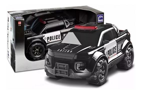 Caminhonete Pick-up Force Police 38cm - Roma Brinquedos