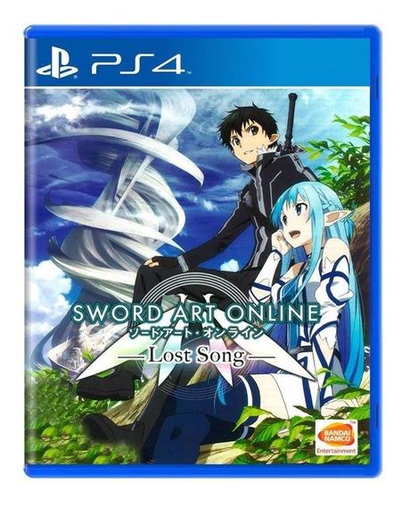 Sword Art Online Lost Song Ps4 Mídia Física Pronta Entrega