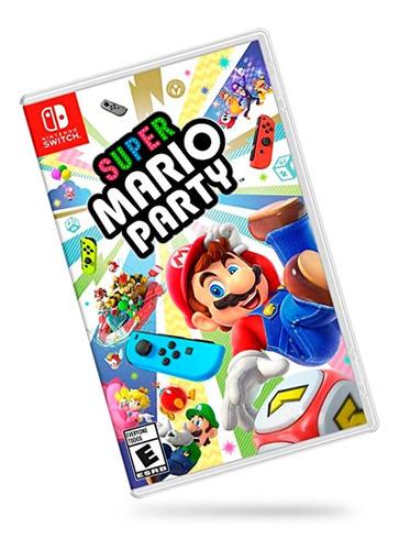Imagen 1 de 3 de Super Mario Party Para Switch Nuevo Sellado
