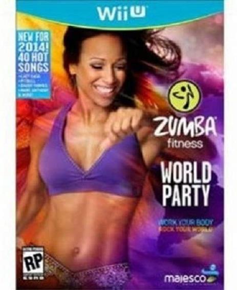 Jogo Wii U Zumba Fitness World Party - Wiiu