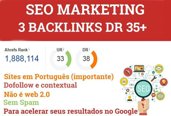 Backlinks Monstruosos 3 Dr 35+ Babri Backlinks Online