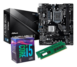 Combo Actualización Intel I5 8400 8gb 2400mhz H310 Gamer Pc