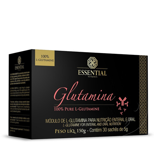 Glutamina 30 Sachês - Essential