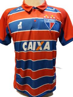 Camisa Fortaleza Tricolor 2018 Polo