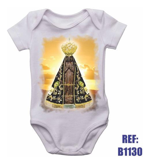 Body Infantil Nossa Senhora Aparecida Padroeira Brasil Bebê