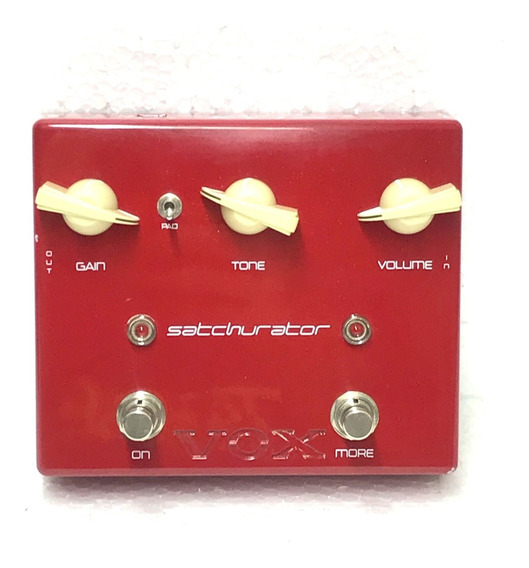 Pedal Vox Satchurator Joe Satriani Distortion + Booster Made In Japan - Usado!
