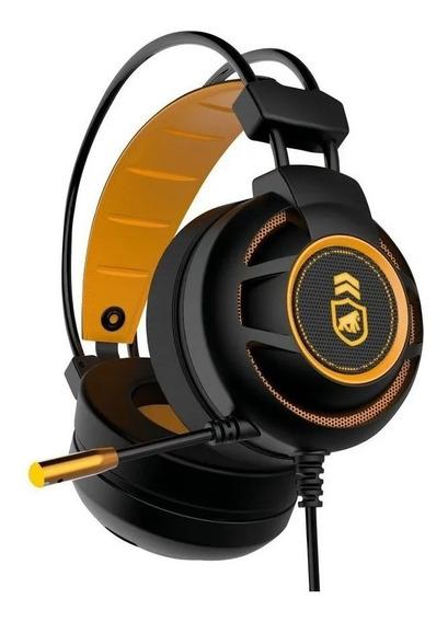 Headset Gamer Com Microfone Led Gorila Shield