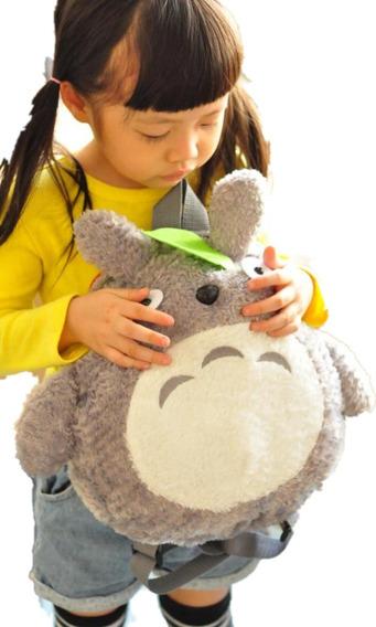 Mochila Totoro Cute Kawaii Niños Unisex Gato Anime Envio Gr