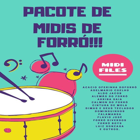 Pacote Midi Karaokê De Forró
