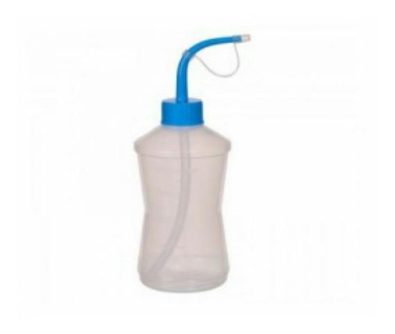 Almotolia Plástica Para Solução De Limpeza 500ml