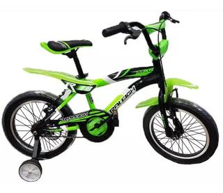 Bicicleta Cross Bmx Nene Raleigh Mxr 16 Cuadro Aluminio - Racer Bikes