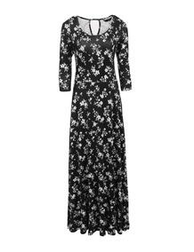 Vestido Largo Plisado Vintage Envio Gratis Primavera Verano