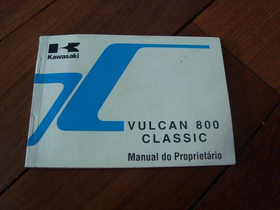 Manual Propietário Kawasaki Vulcan Vn 800