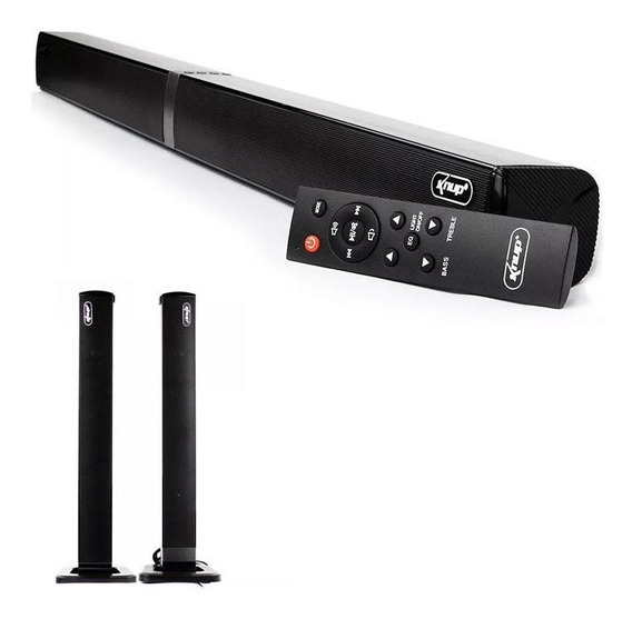Caixa Som Smart Tv Sound Bar Bluetooth 60w Torre/ Horizontal