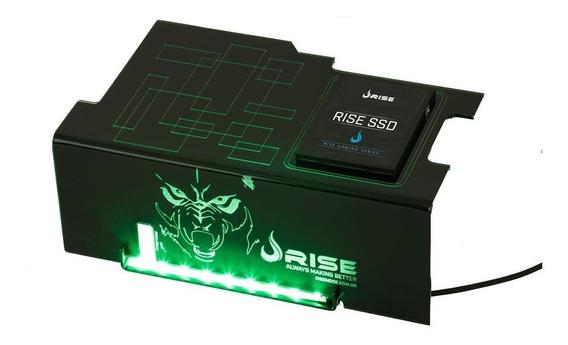 Cover Psu Rise Gaming Wolf Com Suporte Ssd (rg-cp-02-wf)novo