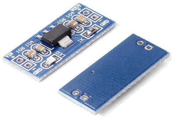 2 Peças Módulo Regulador Tensão Ams1117 Arduíno Stepdown 5v