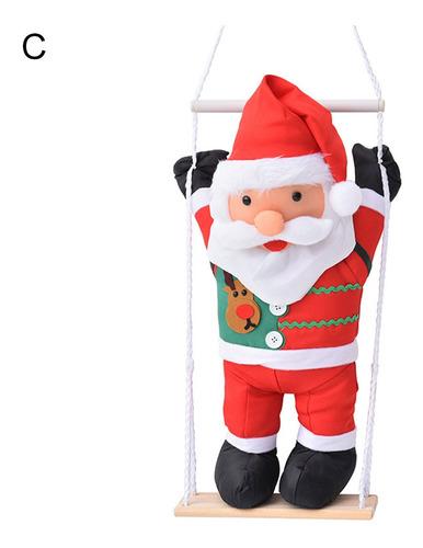 Natal Papai Noel Escada Escada Decoração De Casa De Festa De