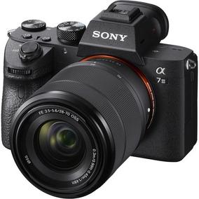 Sony Alpha A7 Iii Mirrorless Camera Com Lente 28-70mm, Novo!