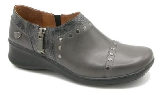 Zapato Cavatini F. Comb. Grafito - Zapato Con Tachas - 40-23