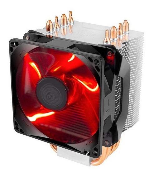 Cooler Cpu Cooler Master Hyper H410r Led Roja Cuotas
