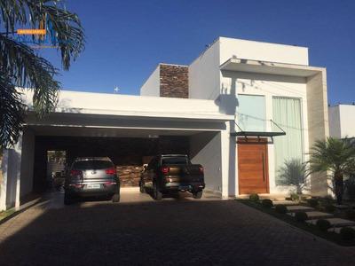 Casa Com 3 Dormitórios Para Alugar, 265 M² Por R$ 6.200/mês - Residencial Anaville - Anápolis/go - Ca1486