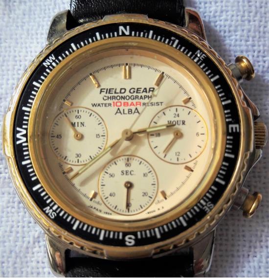 Relógio Modelo Social Seiko Alba - Made In Japan